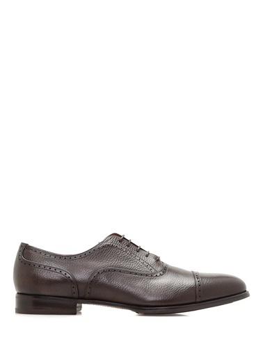 %100 Deri Bağcıklı Klasik Ayakkabı-Barrett